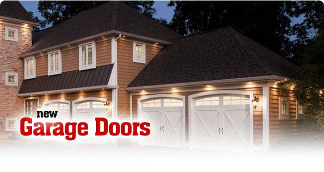 New Overhead Garage Doors